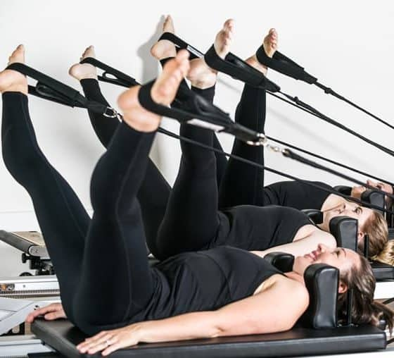 Adelaide Pilates Membership - Reformer Class Workout - V Leg Workout