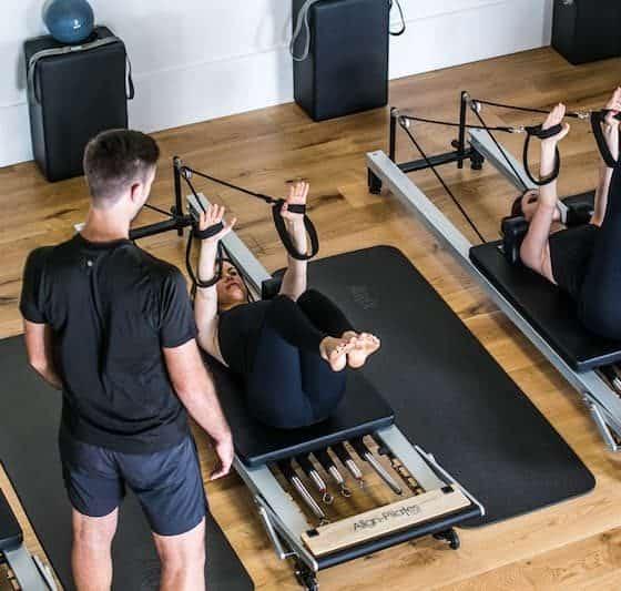 Pilates Studio Adelaide - Class Reformer - Top View