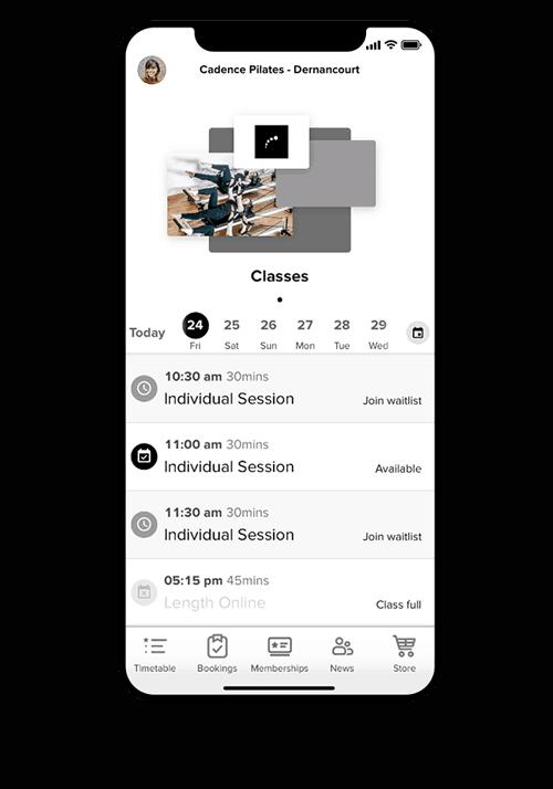 Pilates Class Schedule   Online   Pilates Studio Adelaide